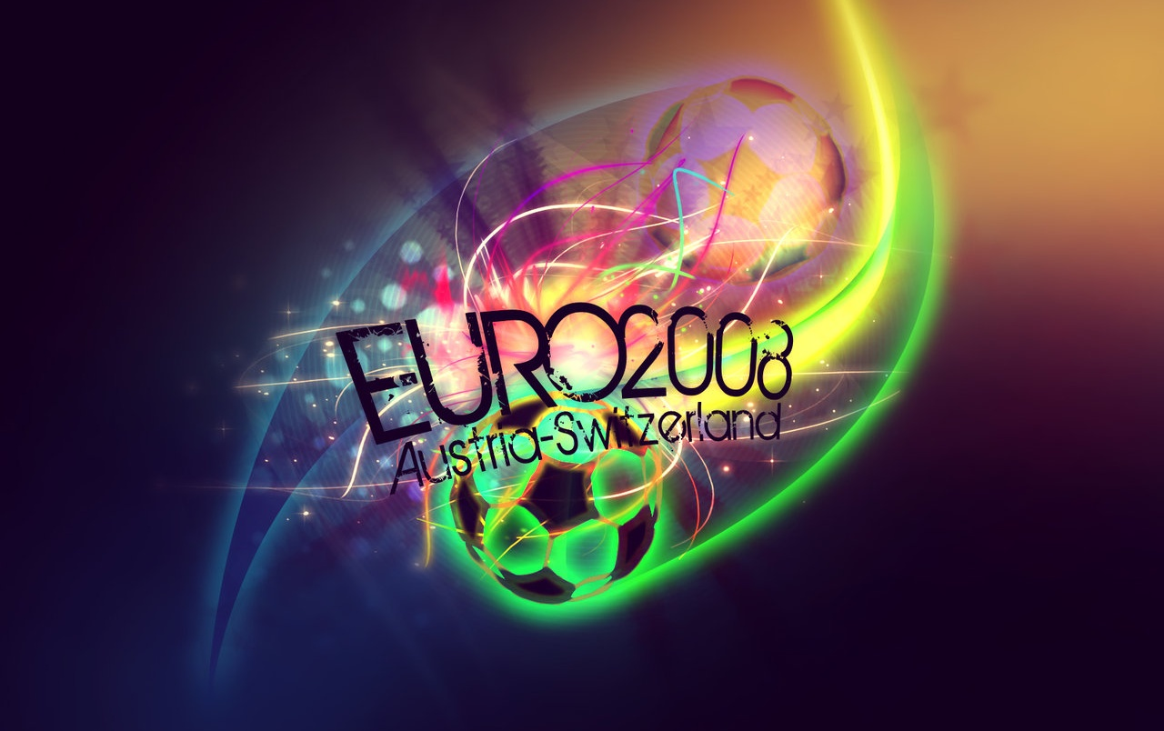 Euro 2008 colorful wallpapers