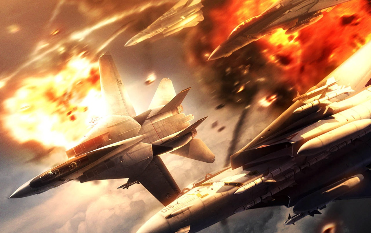 Fighter planes flying wallpapers