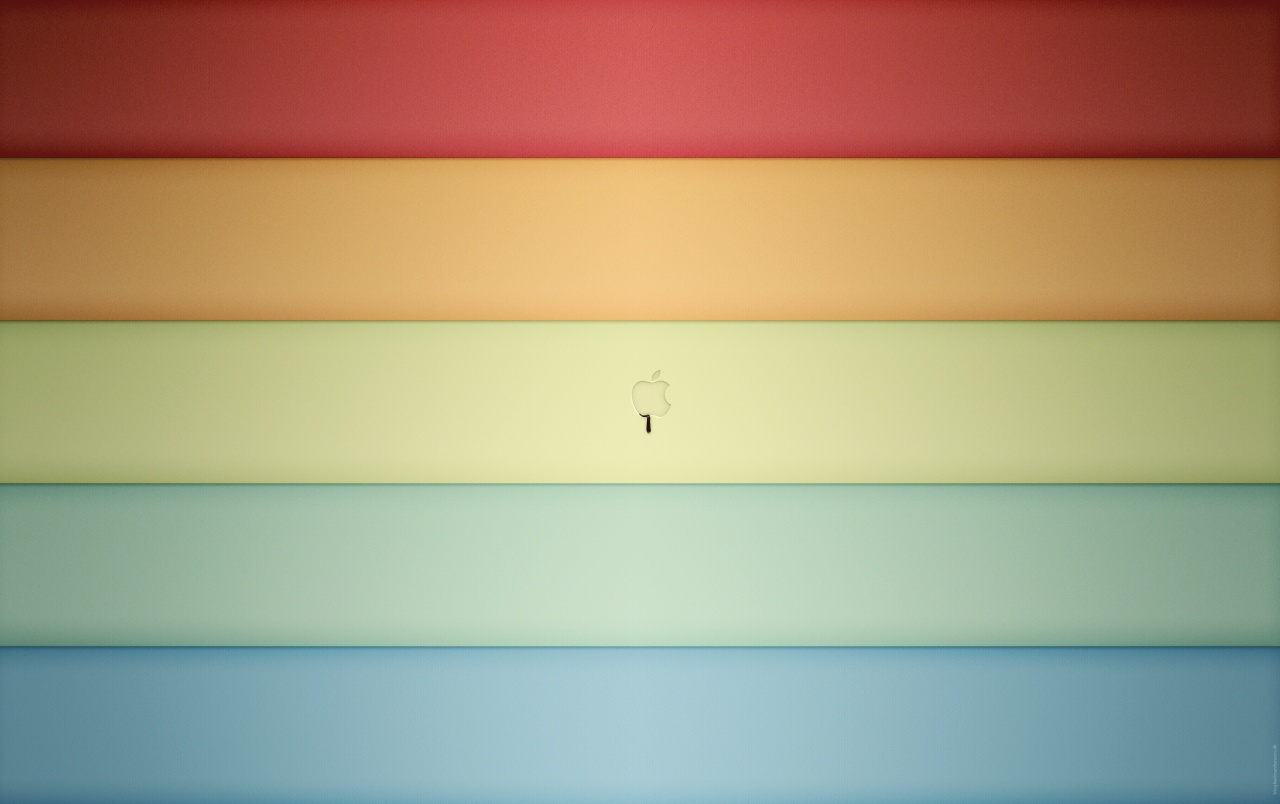 Apple color shades wallpapers