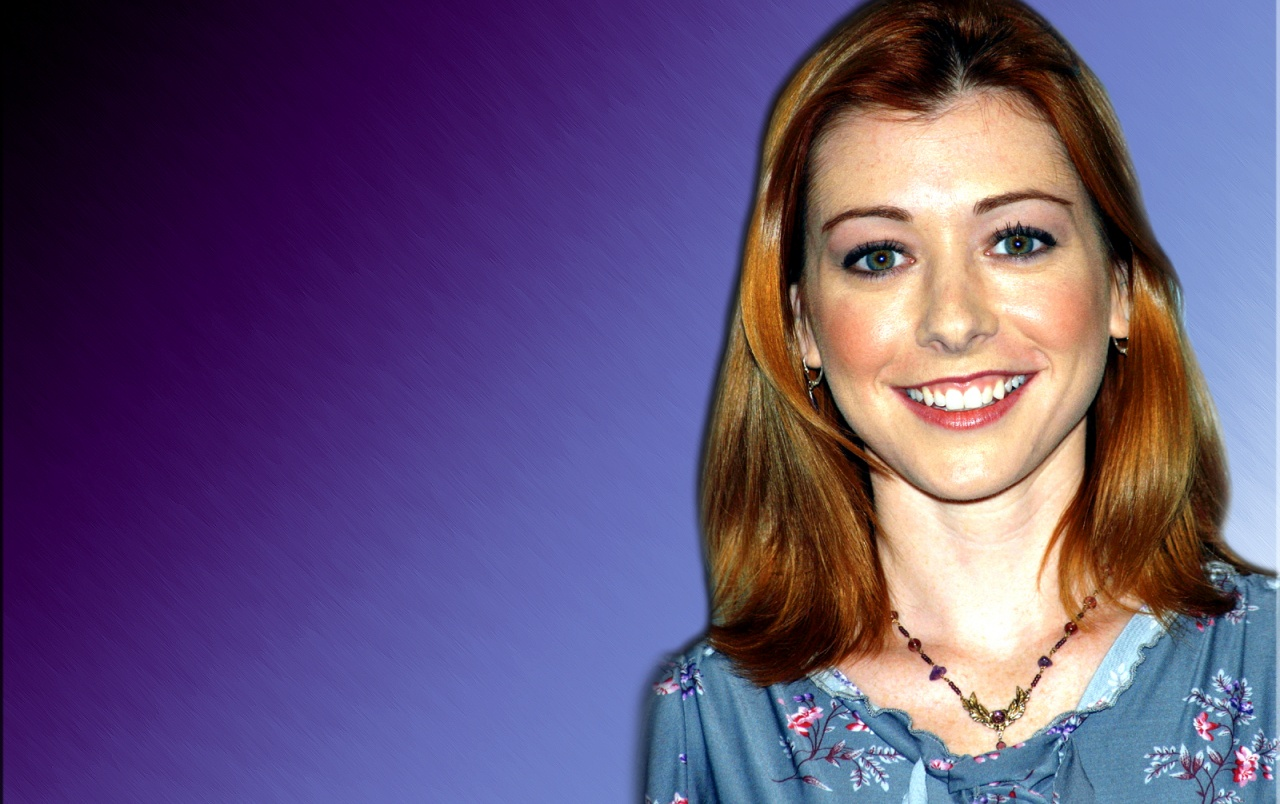 Alyson Hannigan 4 wallpapers
