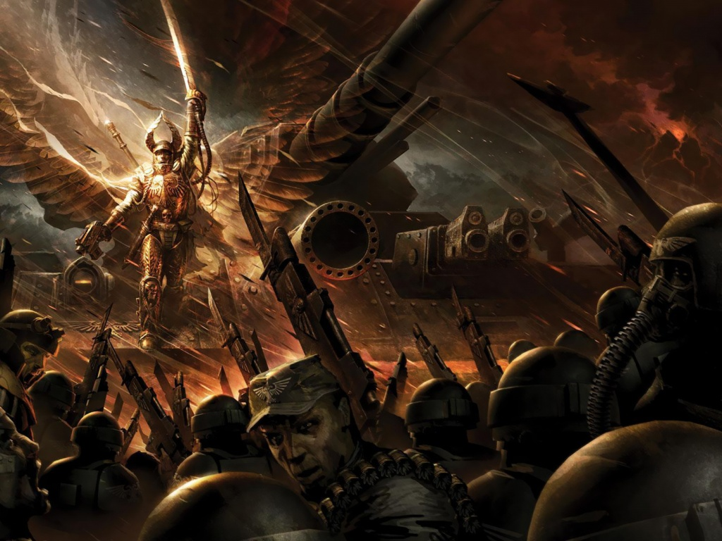 1024x768 Warhammer, game, games