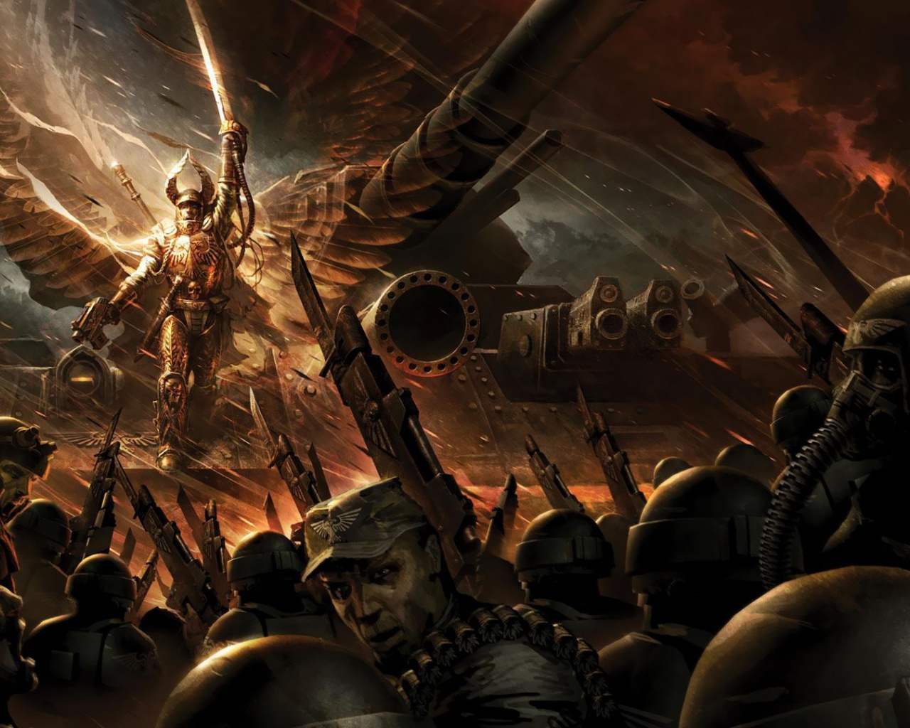 1280x1024 Warhammer, game, games