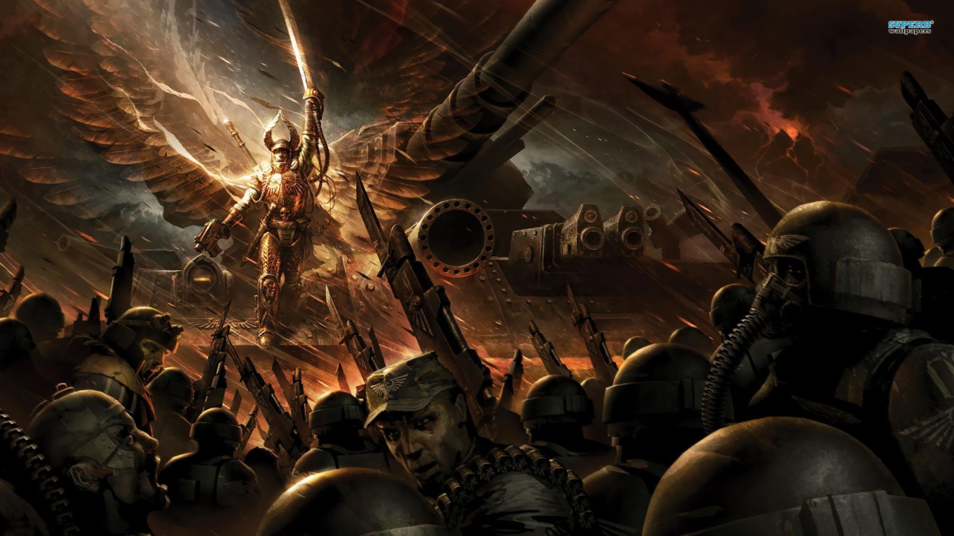 1366x768 Warhammer, game, games