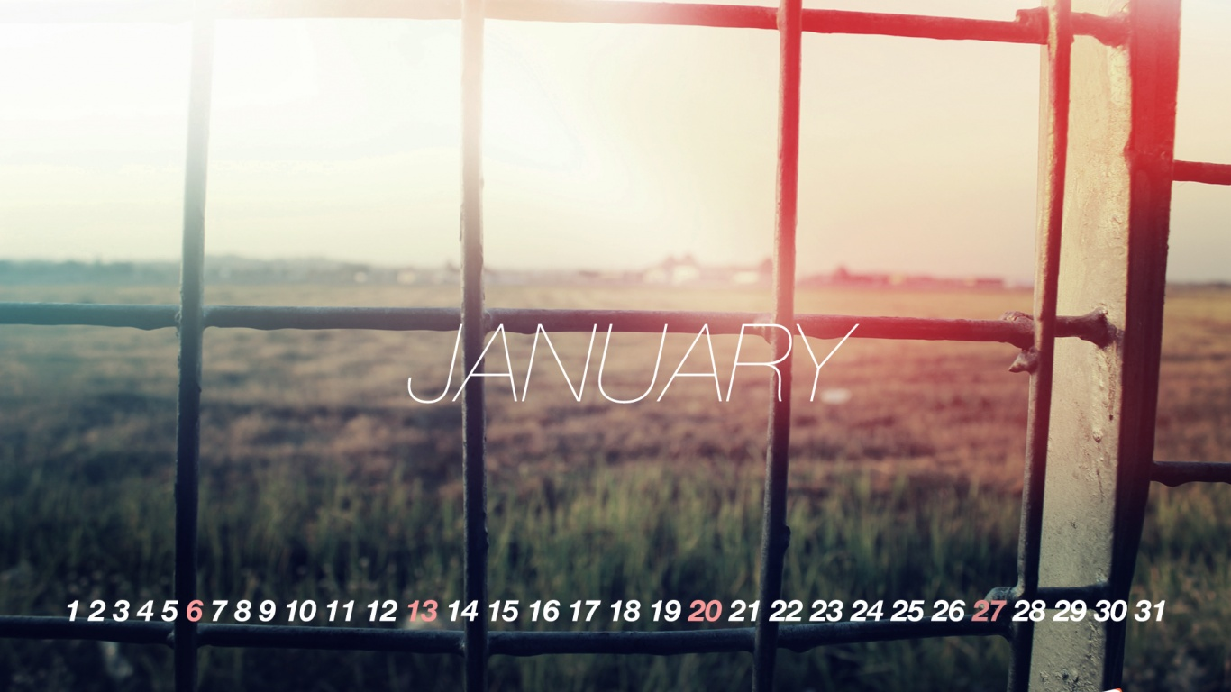 1366x768 Welcome To January