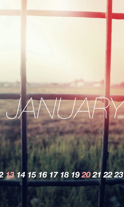 480x800 Welcome To January