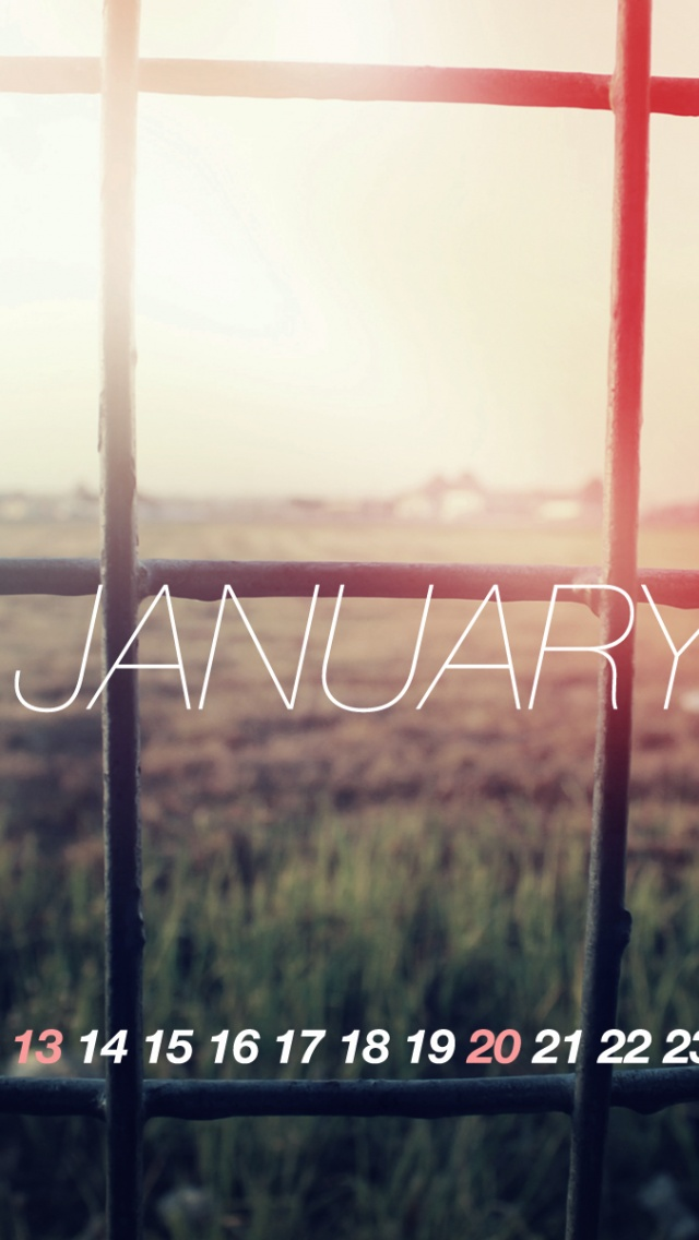 640x1136 Welcome To January