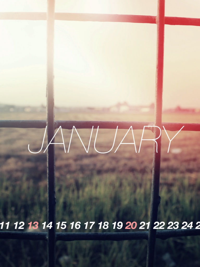 768x1024 Welcome To January