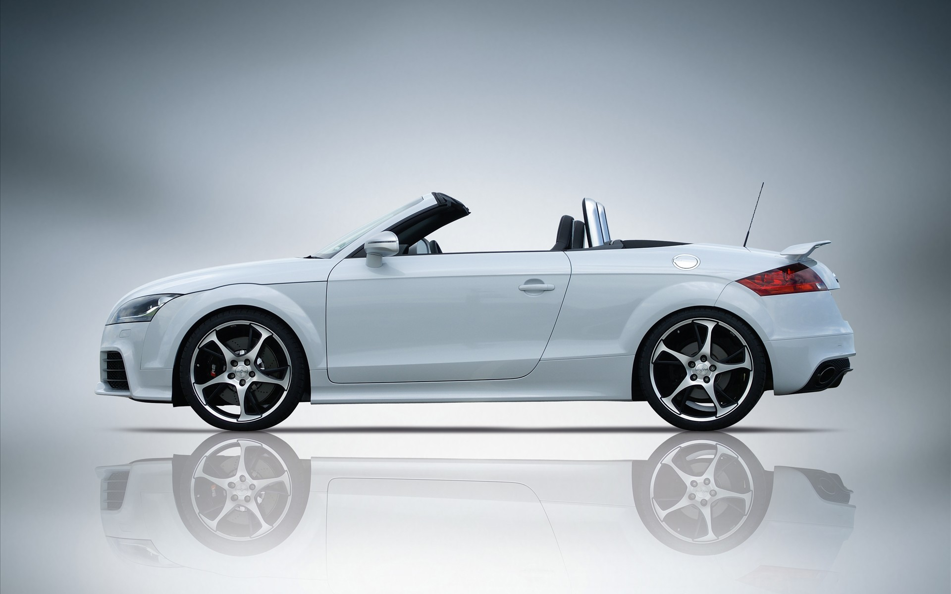 White Audi Tt Rs Cabrio Wallpapers X