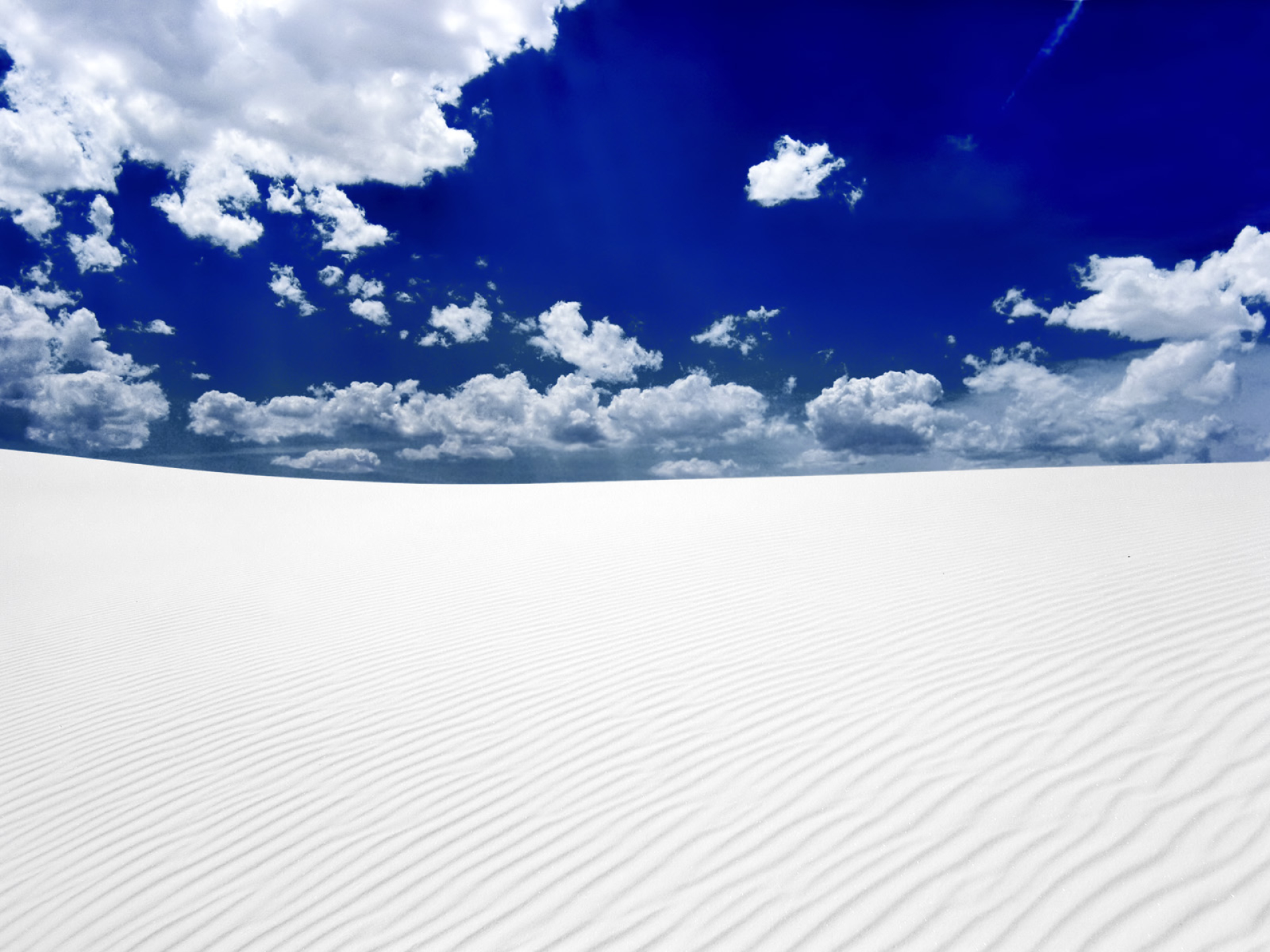 White Desert Amp Deep Blue Sky Wallpapers White Desert