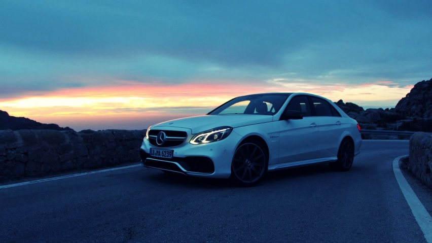 White Mercedes Benz >> 646x220 White Mercedes Benz E63 AMG Linkedin Banner Image
