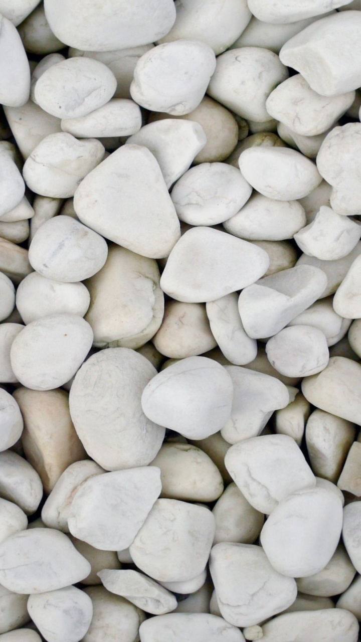 720x1280 White Pebbles Galaxy S3 Wallpaper