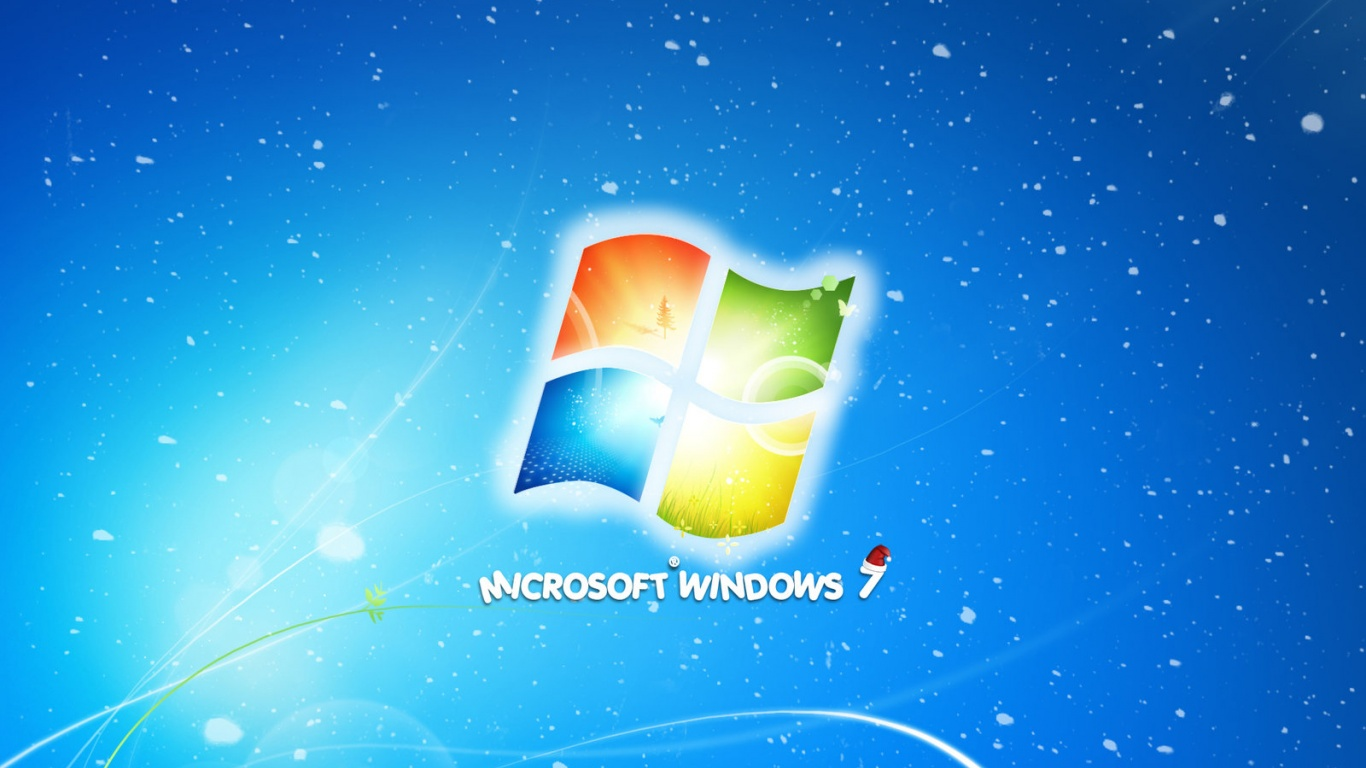 1366x768 windows 7 christmas brasilby desktop pc and mac wallpaper