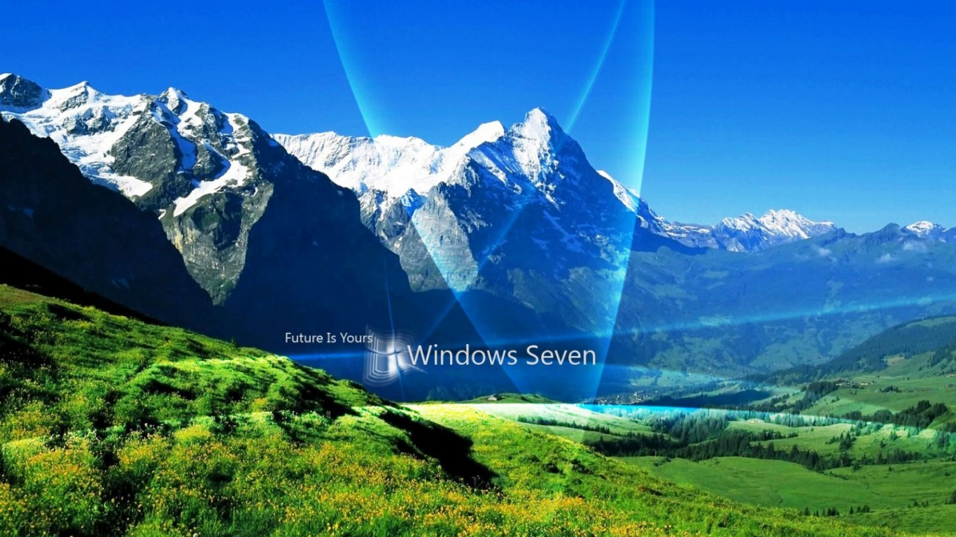 1366x768 Windows 7 Nature Desktop PC And Mac Wallpaper
