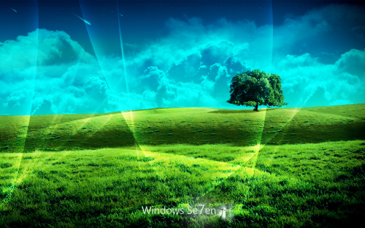 1280x800 windows 7 plain desktop pc and mac wallpaper