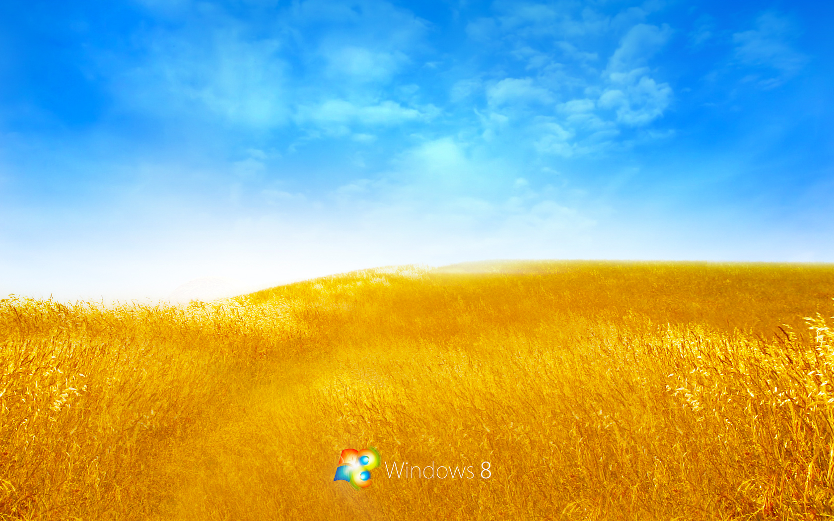 Windows 8 Bliss Stock Photos