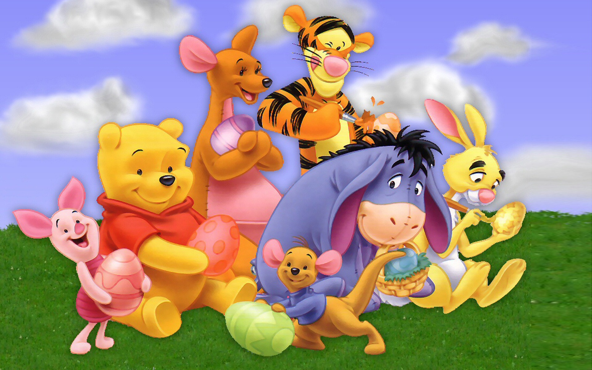 1920x1200 Winnie Pooh Cartoon High Dubstep Resolution
