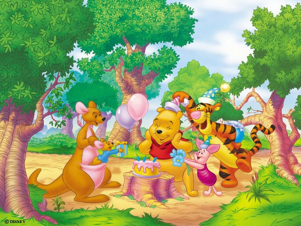 1152x864 Winnie The Pooh Two