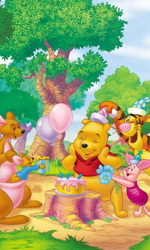 480x800 Winnie The Pooh Two