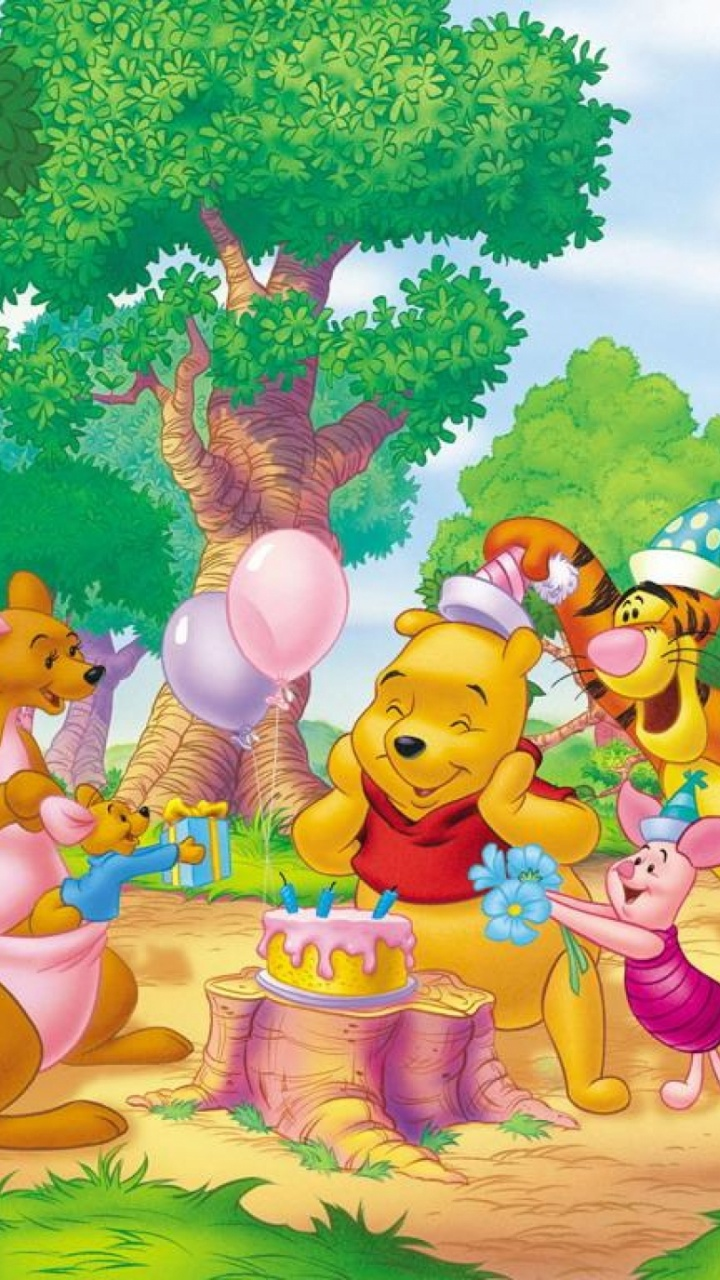 720x1280 Winnie The Pooh Two