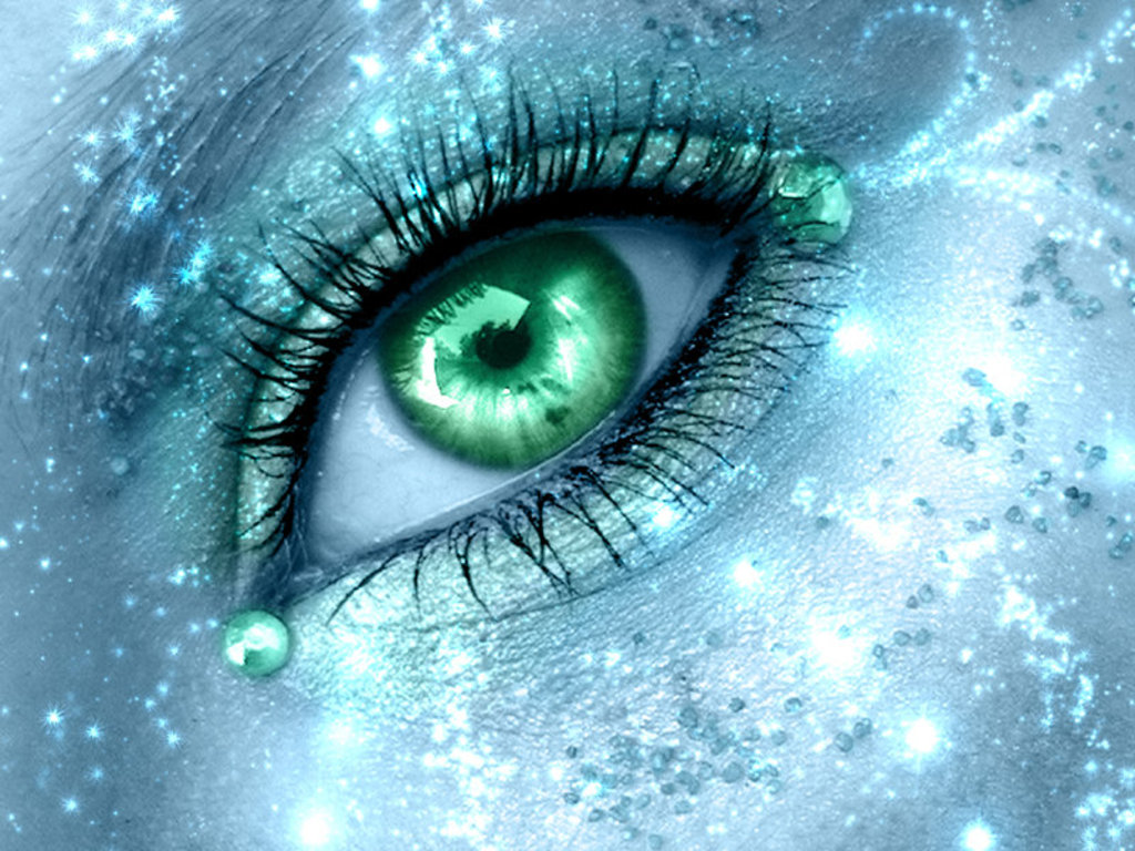 Green Eyes Wallpaper - WallpaperSafari