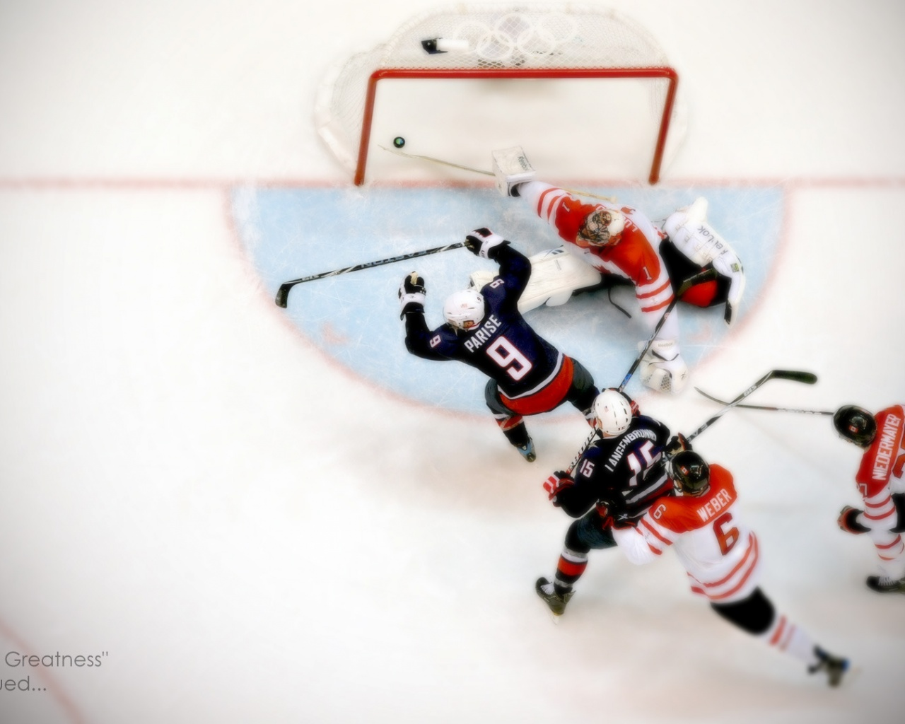 1280x1024 Winter Olympics Hockey Game Desktop Pc And Mac Wallpaper