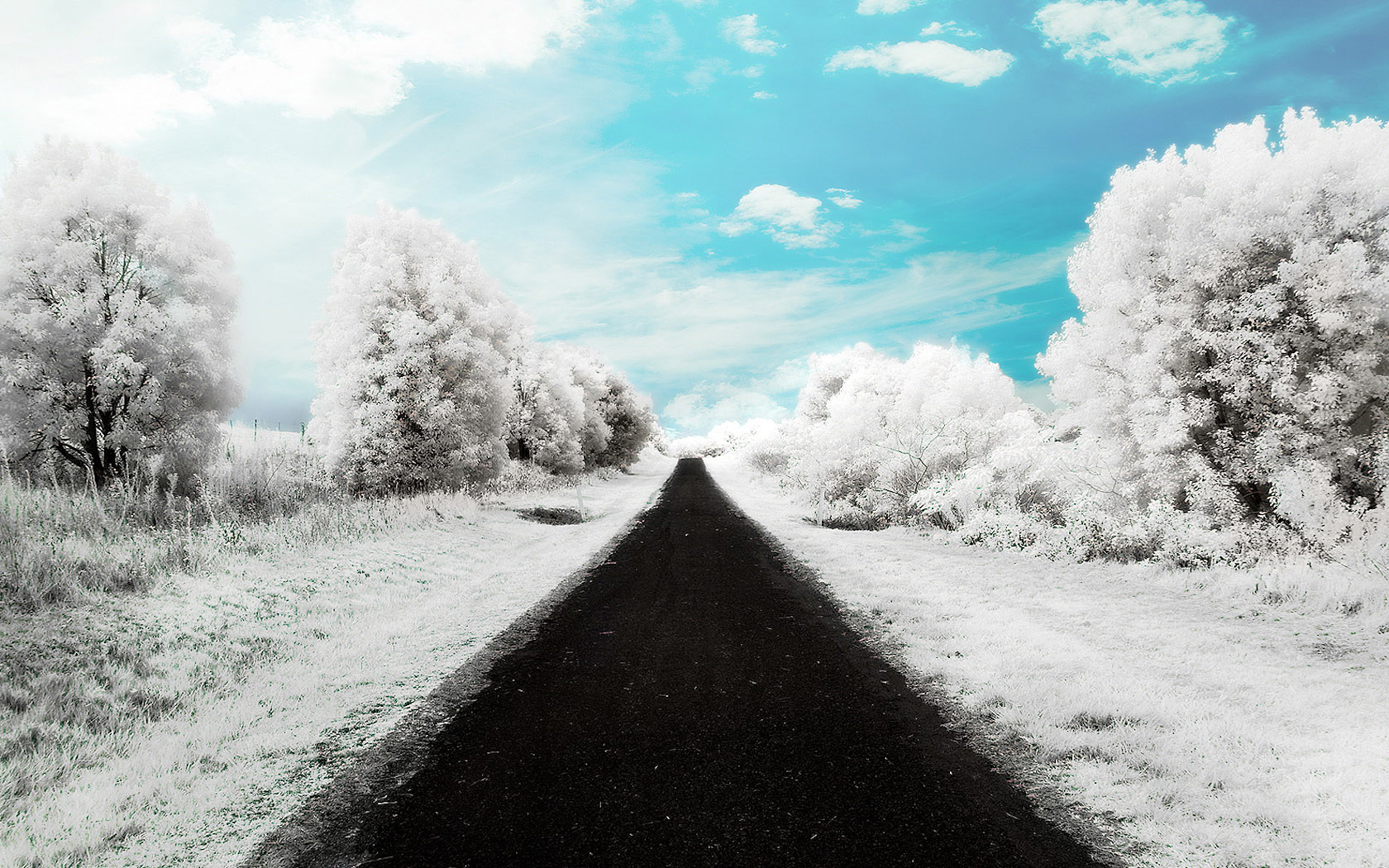 Image Winter Road Wallpapers And Stock Photos