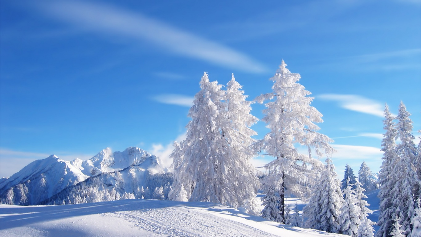 1366x768 winter desktop pc and mac wallpaper