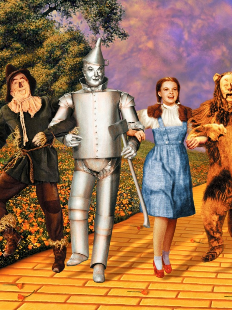 768x1024 Wizard Of Oz One Ipad wallpaper