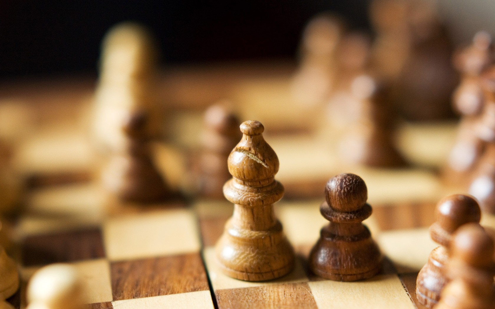 Image: Wood Chess Pieces wallpapers and stock photos. «