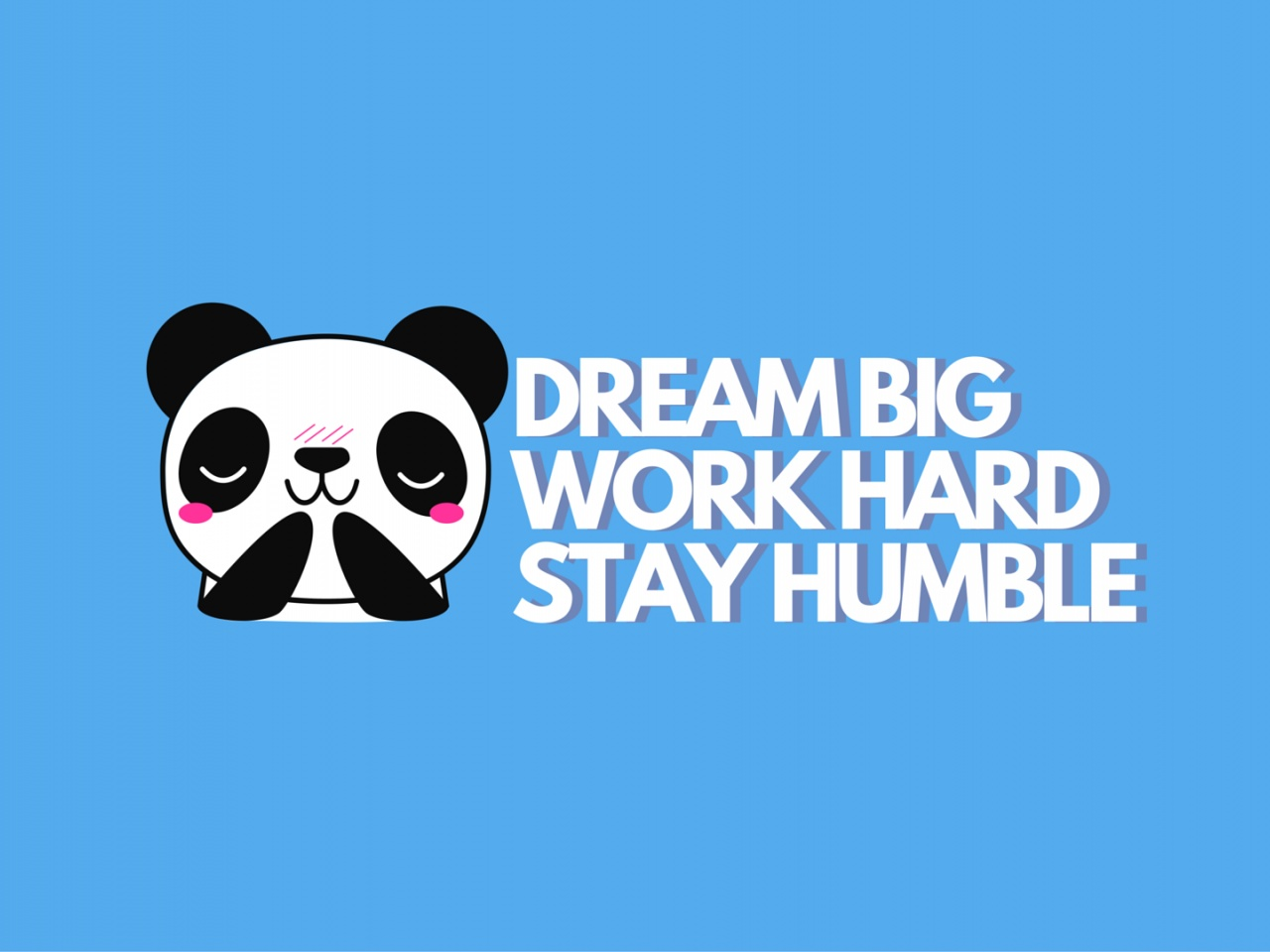 1280x720 work hard stay humble vimeo cover image - Stay humble wallpaper ...