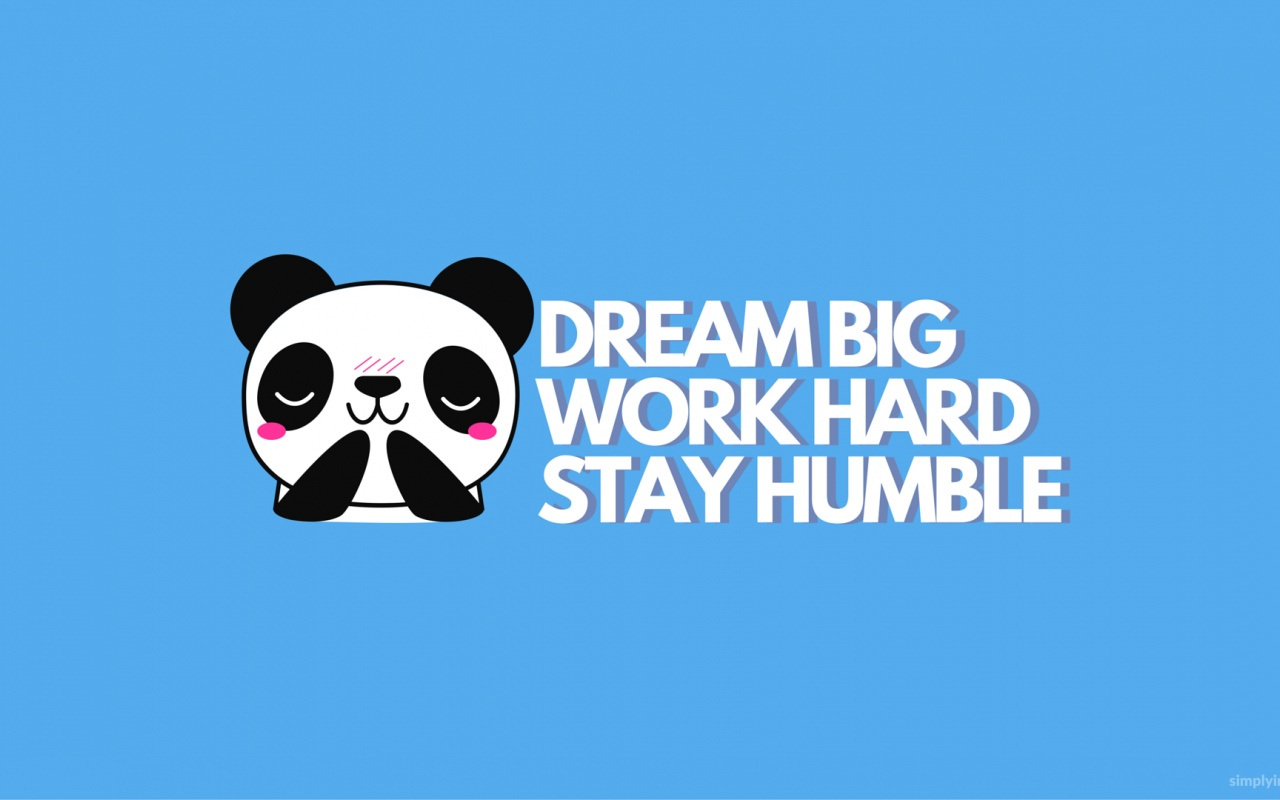 1280x800 Work Hard Stay Humble Desktop Pc And Mac Wallpaper