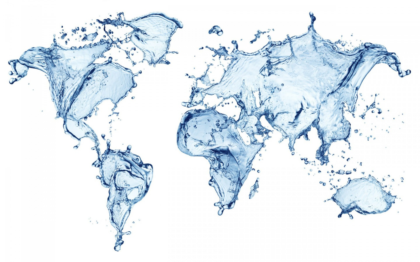 1440x900 world maps water abstract