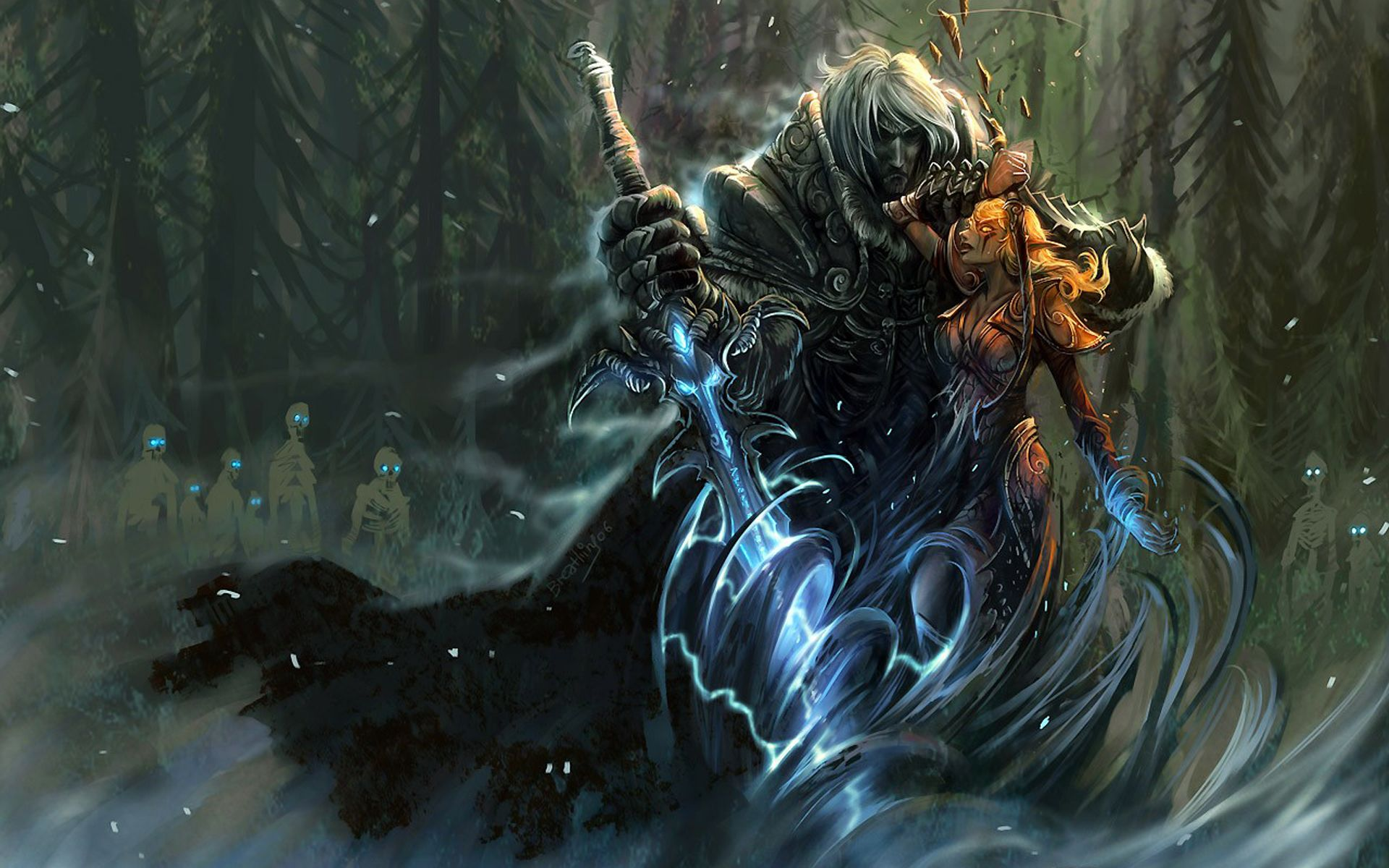 World Of Warcraft Art Game Video Wallpapers World Of Warcraft Art Game Video Stock Photos