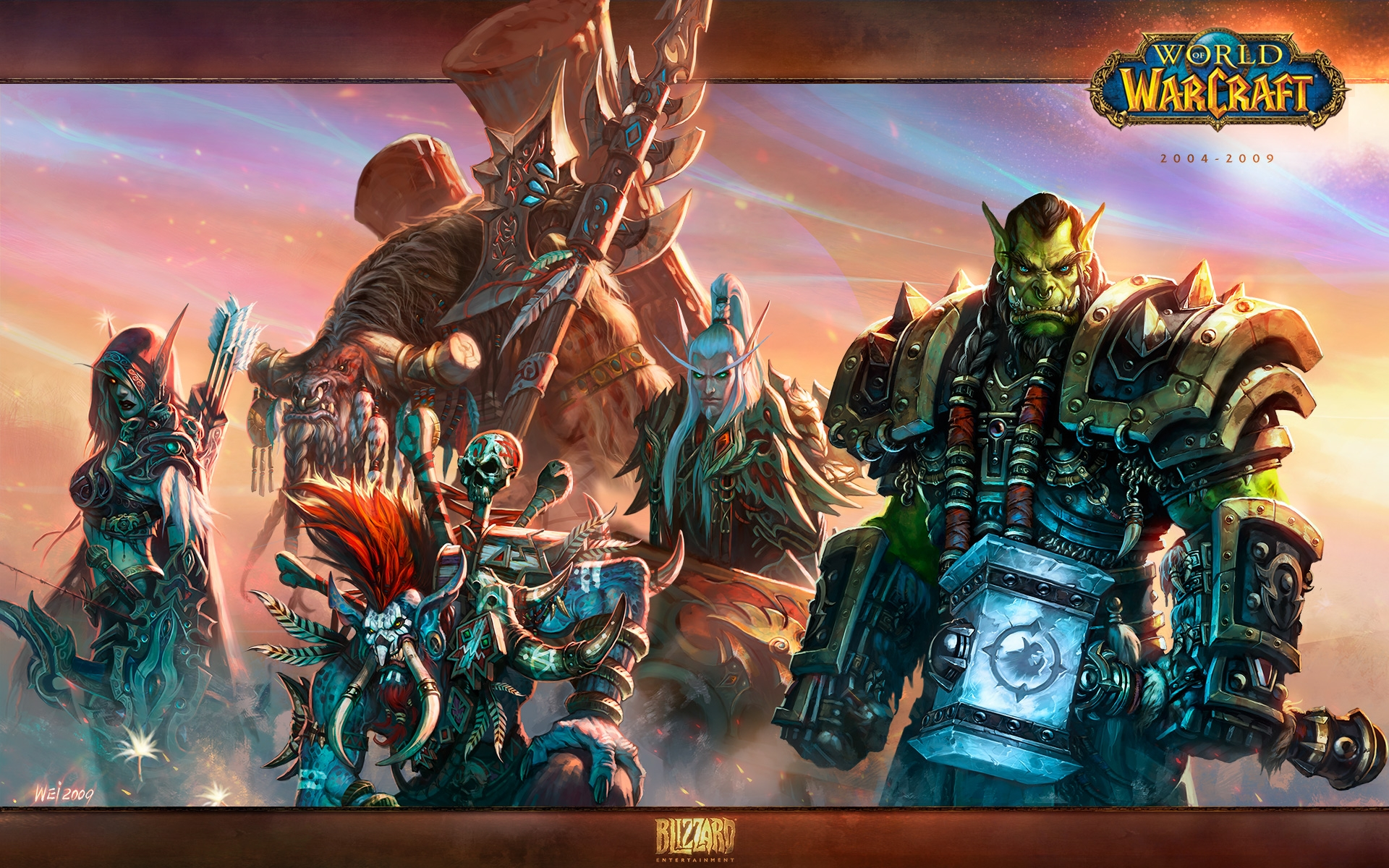 World Of Warcraft Battlecry Horde Monitor Wallpapers World Of