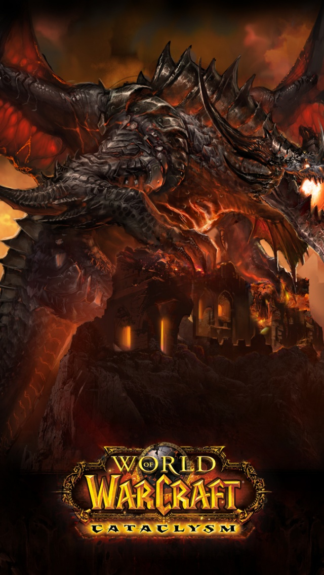 640x1136 World Of Warcraft Cataclysm