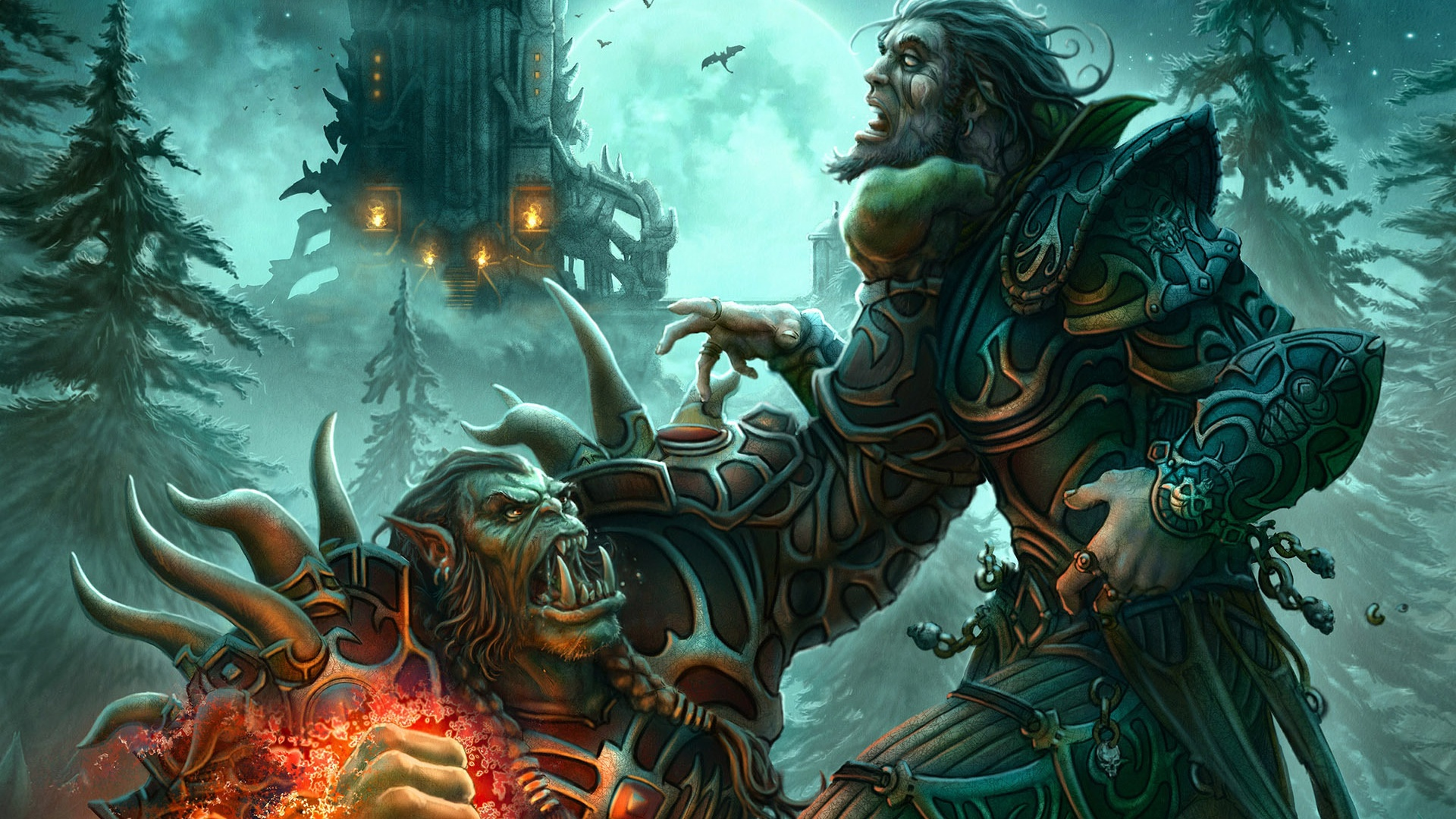 Orc >> 1920x1080 World of Warcraft Orc desktop PC and Mac wallpaper