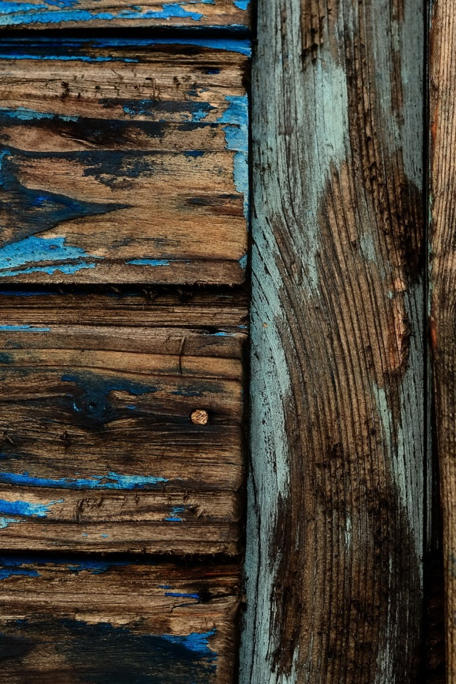 640x960 Worn Wood Texture Iphone 4 Wallpaper