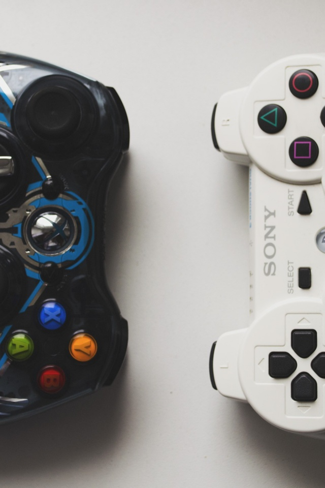 Hd wallpapers for iphone - 640x960 Xbox Vs Playstation Iphone 4 Wallpaper