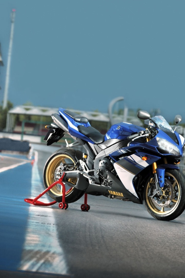 yamaha r6 iphone 4 wallpaper