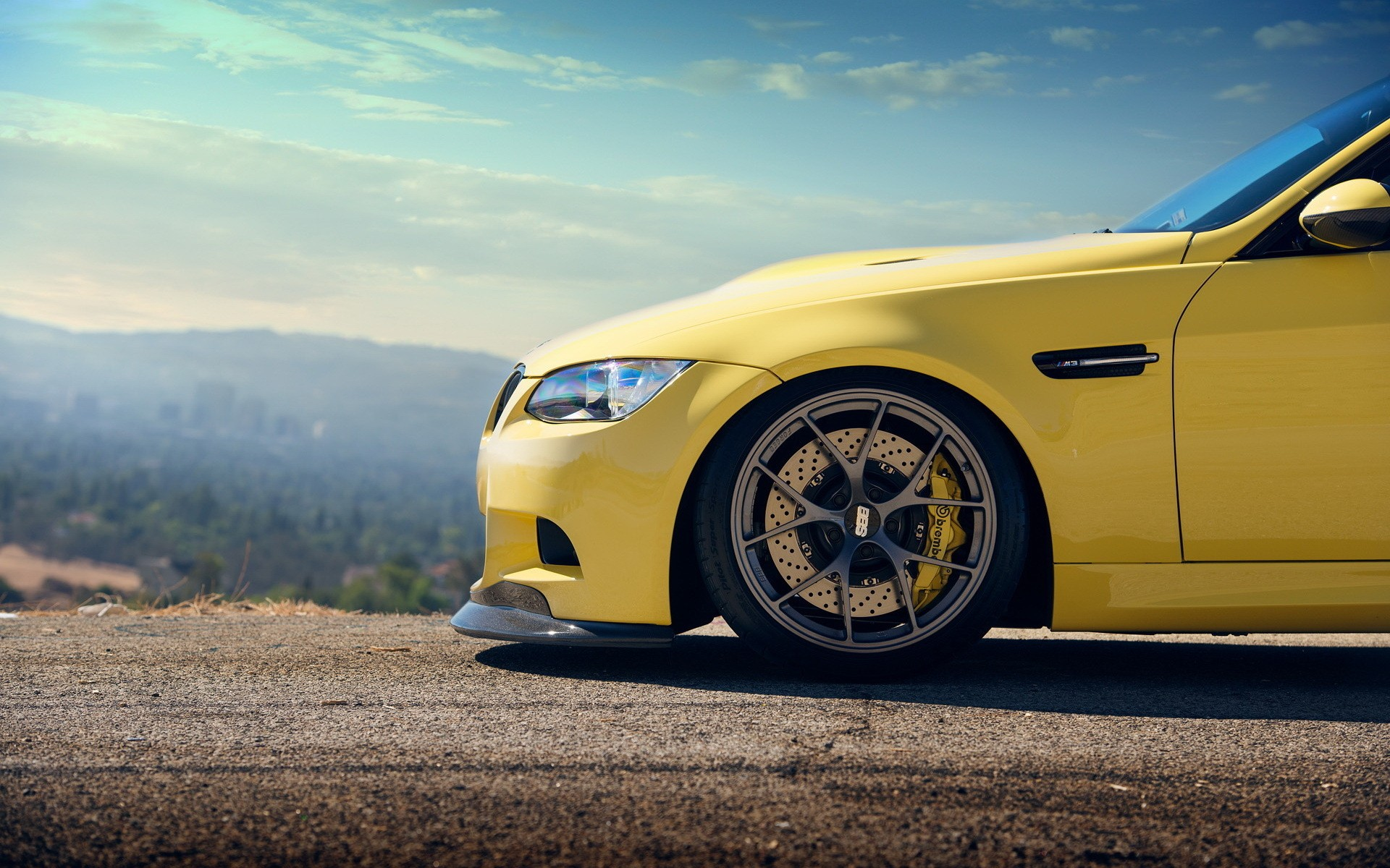 Yellow Bmw M3 Bonnet Wallpapers Yellow Bmw M3 Bonnet