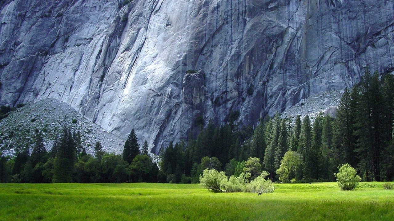 1280x720 Yosemite National Park Scenery