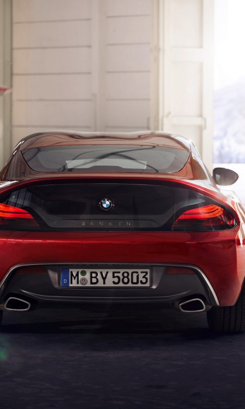 480x800 Zagato Bmw Z4 Coupe 2012 Cars Galaxy S2 Wallpaper
