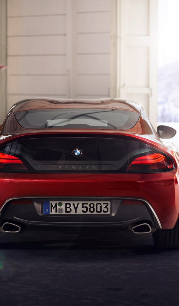 600x1024 Zagato Bmw Z4 Coupe 2012 Cars Galaxy Tab 2 Wallpaper