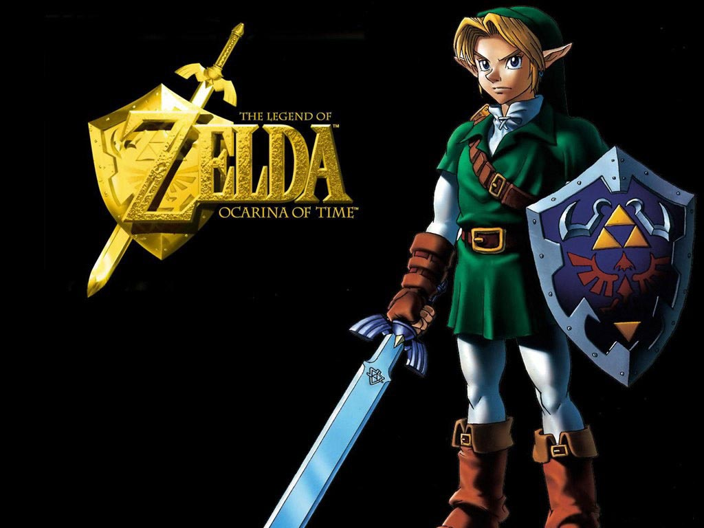 1024x768 Zelda Ocarina Of Time Desktop Pc And Mac Wallpaper